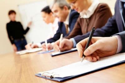 процесс получения удостоверения по охране труда